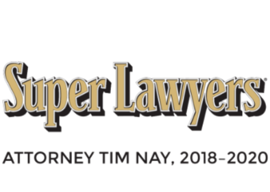 Super Lawyers - Attorney Tim Nay 2018-2020 - Estate Planning Attorney